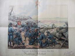 DIPLOME BREVET SOUVENIR GRANDE GUERRE 1914 1918 ECOLE ECOLIER PATRIOTISME PRIX SOLDAT