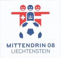 Liechtenstein Aufkleber - Label - Étiquette - Football Championship - Switzerland - Liechtenstein - Austria - Stickers