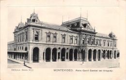 ¤¤  -  URUGUAY   -  MONTEVIDEO   -  Ferro Carril Central Des Uruguay   -  ¤¤ - Uruguay
