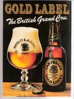 Campbell´s Christmas Gold Label- Scotch Ale-The British Grand Cru-Bière-Publicité De Table -Recto-Verso-14,5x10,5cm - Autres Collections
