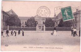 1914- Sur C P A De Lyon Affr. 5 C Semeuse  Lyon-Exposition / Rhone  + EXPOSITION -1914- LYON - Storia Postale