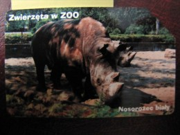 Poland - 25 U - 2001 - PL1039 - White Rhinoceros - Phonecards