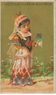 La Dame De Carreau Defaut Coin Abimé - Playing Cards