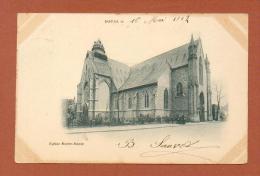 CPA  FRANCE  59  -  DOUAI  -  Eglise Notre-Dame  ( Dos Simple 1902 )  Animée - Douai
