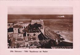 Elbe,elba,province De Libourne,carte En Relief,villa Napoleonica Dei Mulini,vue Sur La Mer,falaise Et Jardin,rare,magit - Livorno