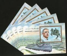 Sharjah - UAE 1972 Redoutable Class Submarine Transport M/s Cancelled X5 # 13479 - Submarines