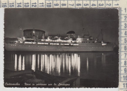 Civitavecchia  Nave In Partenza Per La Sardegna   1957 - Civitavecchia
