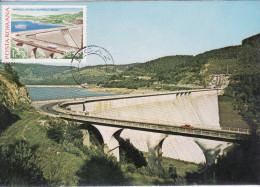 Bicaz Neamt, Barajul, Dam, Le Barage Card 100 - Romania