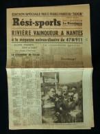 TOUR DE FRANCE 1959 Numéro Spécial RESI-SPORTS 30 Juin 1959 CLM BLAIN NANTES Roger Rivière - Cyclisme