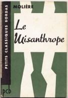 Le Misanthrope De Molière - Bordas - 126 Pages - Theatre