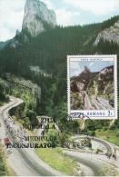 Cheile Bicazului, The Bicaz Gorges, Romania Tourism Card 100 - Romania