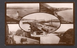 1923 Campbeltown Multi-View Posted RP Card As Scanned - Argyllshire
