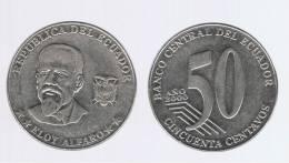 ECUADOR -  50  Centavos  2000  KM108 - Ecuador
