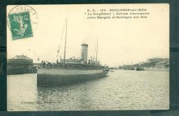 """N°160  -  Boulogne Sur Mer - """"le Kingfisher """" Bateau D'excursion Entre MARGATE ET BOULOGNE SUR MER  LFP131 - Ferries"""