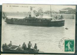 N°77  - Le Tréport - Arrivée Du Mercure    LFP144 - Ferries