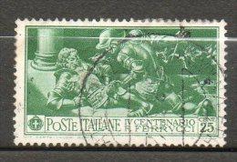 ITALIE  25c Vert 1930 N°259 - Usati