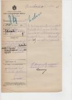 ^ CARABINIERI REALI RIVAROLO CANAVESE TORINO EMIGRANTE GUERRA MILITARE DOCUMENTO 37 - Documentos Históricos