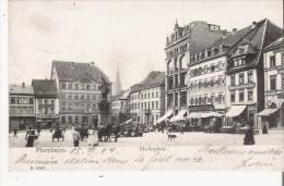 PFORZHEIM 19588  MARKTPLATZ 1904 - Pforzheim