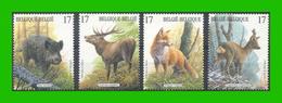 BUZIN - 2748/51** Mammifères Des Ardennes / Zoogdieren Van De Ardennen - Nuevos