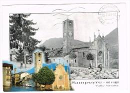 M2820 Sampeyre (Torino) - Valle Varaita - Ieri E Oggi / Viaggiata 1999 - Italie
