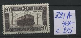 Ch De Fer 321A ** Cote 25 E - 1942-1951