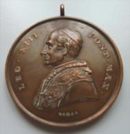 Médaille Léon XIII Pont Max, S.S Pietro E Paolo Apostoli - Royaux/De Noblesse