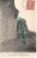 15 - CARLAT - L' ESCALIER DE LA REINE  1905 - Carlat