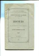 COURS D APPEL DE CHAMBERY LE SENAT SOUVERAIN DE SAVOIE AUDIENCE SOLENNELLE DE RENTREE DU 17.10.1892 - Books, Magazines, Comics