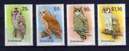 Zimbabwe - 1993 - Owls (2nd Series) - MNH - Zimbabwe (1980-...)