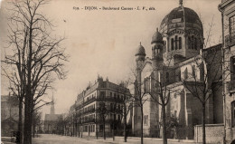 Dijon : La Synagogue, Boulevard Carnot (Editeur Louis Venot, LV N°639) - Dijon