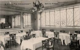 Dijon : Restaurant 'Au Châteaubriand', La Salle Du Premier étage (Edit. Blum Et Cie, N°3) - Dijon