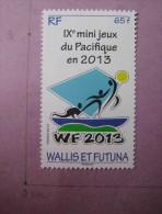 WALLIS FUTUNA FRANCE SPORTS 2012 VOILE NEUF 1 Timbres WALLIS SPORTS YARCHING MNH - Segeln
