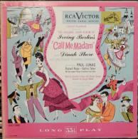 Howard Lindsay & Russel Crouse 33t. LP USA *call Me Madam* - Musicals
