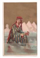 Chromo, Draperie, Soieries, Nouveautés, AUDINET-THIEBAULT, Chalon Sur Saône - Trade Cards