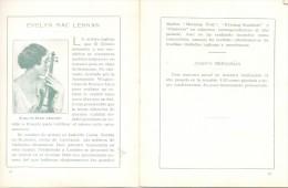 RECITAL DE VIOLIN A CARGO DE EVELYN MAC LENNAN (ISABELLA LUCIA) EN EL PIANO JOSEPH BERGGRUN ROSARIO MIERCOLES 14 DE JUNI - Programs