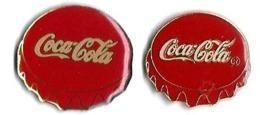 COCA-COLA - C40 - 2 CAPSULES Dfférentes - Verso : SM / C 1989 THE CCC / MADE IN TAIWAN - Coca-Cola