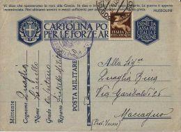 FRANCHIGIA WWII POSTA MILITARE 60 1942 SCUTARI ALBANIA X MACCAGNO - Military Mail (PM)