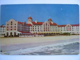 NY New York Lido Beach, Long Island Lido Hotel Postcard - Long Island