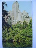 NY New York New York City Barbizon Plaza Hotel Postcard #2 - Unclassified