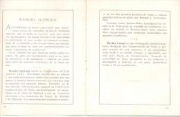 RECITAL DE VIOLIN MANUEL QUIROGA EN EL PIANO MARTHA LEMAN ROSARIO MARTES 31 DE OCTUBRE DE 1933 ORIGINAL MUSIC MUSICIAN - Programmes