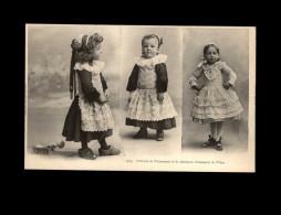 29 - FOUESNANT - Costumes - Coiffes - Enfants - Fouesnant