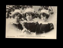29 - FOUESNANT - Costumes - Coiffes - Reines Des Pommiers - Fouesnant