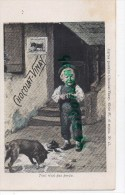 CHOCOLAT VINAY - SERIE IV  N° 13- ENFANT CHIEN - CARTE PRECURSEUR - Cartes Postales
