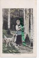 CHOCOLAT VINAY - SERIE IV  N° 10- FLEURS SYLVESTRES - CARTE PRECURSEUR - Cartes Postales