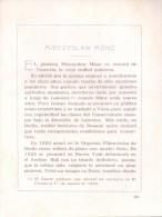 RECITAL DE PIANO MIECZYSLAW MUNZ ROSARIO JUEVES 4 DE AGOSTO DE 1932 MUSIQUE MUSICIAN MUSICIEN MUSICO PIANISTA - Programs