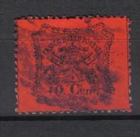 W662 - PONTIFICIO 1868 , Il 10 Cent Usato. Vedi Scan. - Stato Pontificio