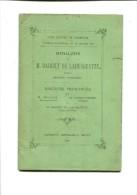 FASCICULE COUR D APPEL DE CHAMBERY  INSTALLATION DE BARCIET DE LABUSQUETTE NOMME PREMIER PRESISDENT - Books, Magazines, Comics