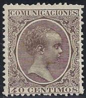 ESPAÑA 1889 - Edifil #223 - MLH * - Ongebruikt