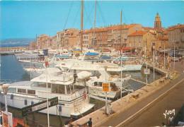 3 CPSM      Saint Tropez  Quais      P  2054 - Saint-Tropez