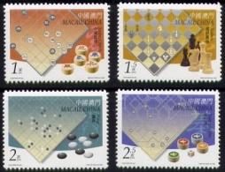 Echecs Serie Neuve Macao 2000 Y:1000/1003 Cote/value:4€ Chess Series MNH - Echecs